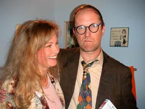 Walter (Mr Torshälla 82) och Yvonne (Miss Universum 84)